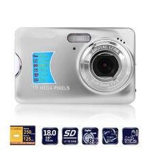"""Memteq 18.0MP Камера 2.7 """"TFT ЖК-дисплей Мониторы 8X цифровой зум сфотографировать HD видео Уход за кожей лица обнаружения цифровой Камера анти -shake EIS"""
