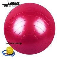 Fitness Yoga Gym Ball 85cm (33'') Smooth Fitness Gym Exercise Ball With Pump Balance Pilates Yoga Balls with Pump