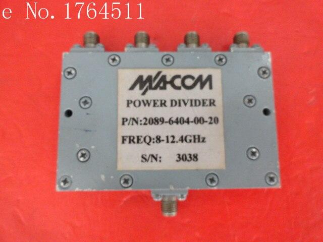 [BELLA] M/A-COM A Four 2089-6404-00-20 8-12.4GHz SMA Divider