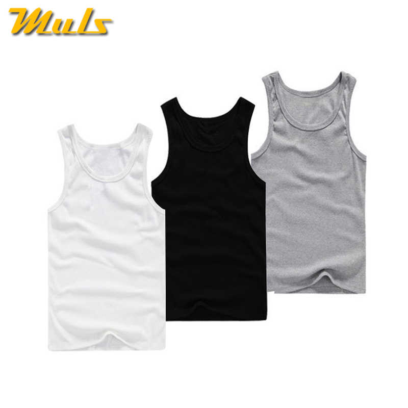 6ab1d36d6463e 3PCS Lot Cotton Tank Tops Men Summer Male Sleeveless Vest Underwear  Breathable Flexible Casual Gilet