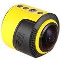 Detu Panorama de 360 Graus Da Câmera Wi-fi Câmera de Ação para o Virtual óculos VR 1080 P 30FPS 8MP Olho de peixe Fonte de Filme de Vídeo Esporte câmera