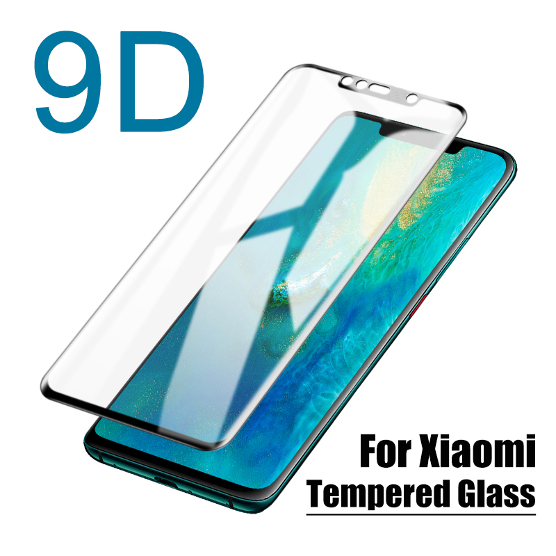 9D Protective Glass for Xiaomi Mi 8 6 6X 5X A1 A2 Lite Mix 2 2S Mi6 Pocofone Poco little Pocophone F1 Film screen protector Glas(China)