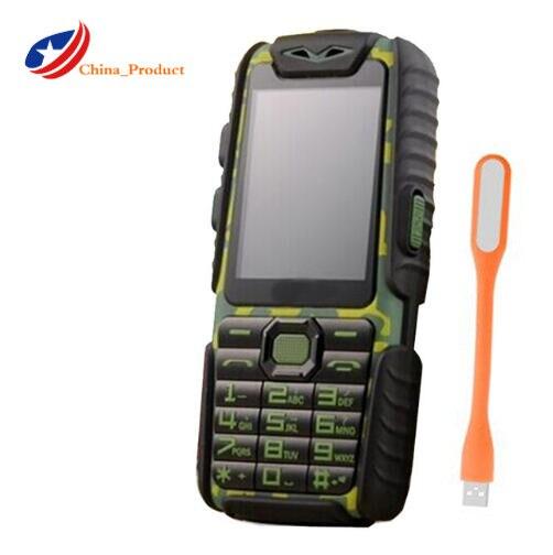 Фото. Guophone A6 9800mAH power Bank мобильный телефон 2,4 дюйм 0.3MP камера с английским или фонарик