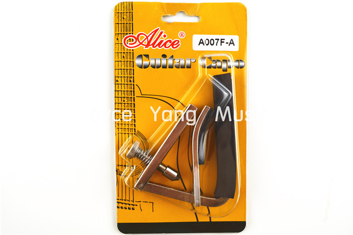 Alice Metal Base Supporting Guitar Capo Clamp For Acoustic/Electric Guitar Free Shipping Wholesales amumu traditional weaving patterns cotton guitar strap for classical acoustic folk guitar guitar belt s113