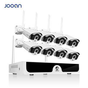 8-канальная беспроводная камера видеонаблюдения, P2P, 1080P, HD, NVR, HD, 2.0мп, инфракрасная Водонепроницаемая камера безопасности, Wifi