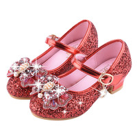 VT01 Baby Girls Pearl Crystal Bling Bowknot Single Shoes Menina Girl Princess Shoes sapato infantil zapatos de bebe