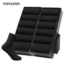 12 Pairs/Lot Plus Size Mens Cotton Socks Business Men Deodorant Crew Breathable Male Solid Color US size(7-11.5) EU 39-48
