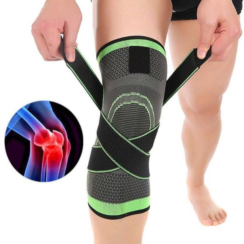 1PC 2019 360 Compression Knee Brace Professional Protective Knee Pad Breathable Bandage Knee Brace Basketball Tennis Cycling