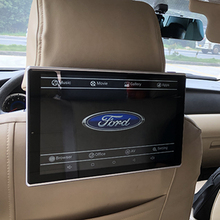 2PCS Car Android 7.1 System Headrest Monitors For Ford Rear Seat Entertainment Auto TV Screen 11.8 Inch Support 4K HD Playback tv in the car monitors auto rear seat entertainment for after 2013 bmw headrest monitor 11 6 inch android 7 1 system 2pcs