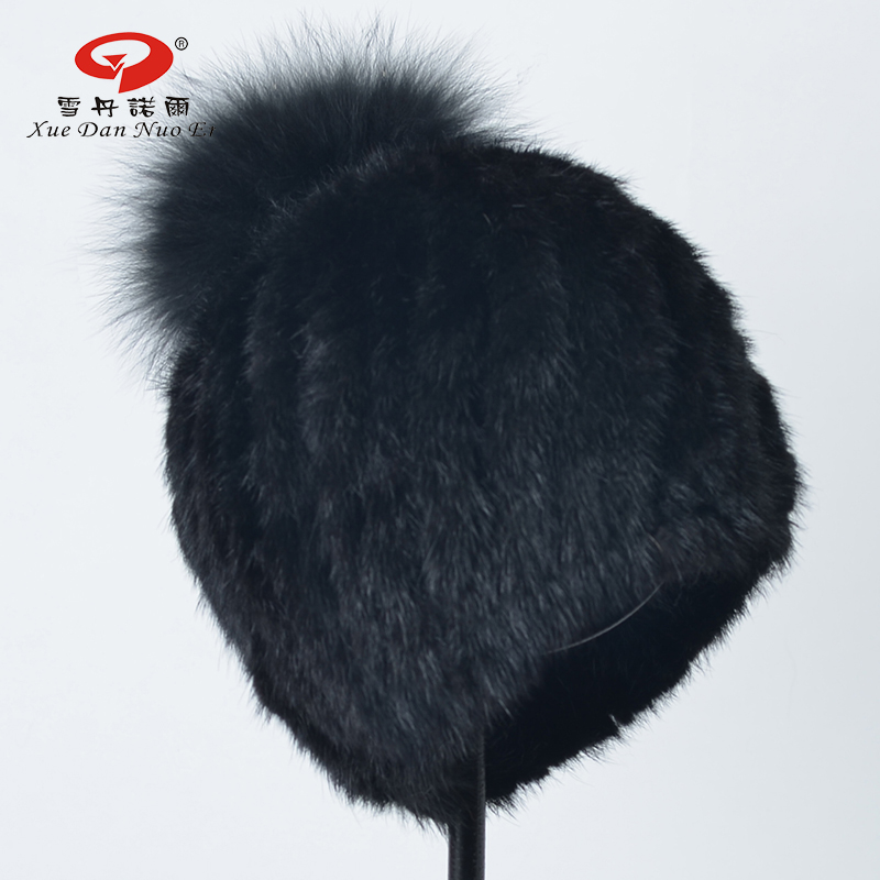 Black friday sale New arrival real fur hats