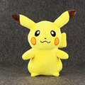 30 см Высокое Качество Аниме Poke Пикачу Плюшевые Игрушки Kawaii Пикачу Мягкий Фаршированные Куклы Дети Коллекционные Подарок На День Рождения