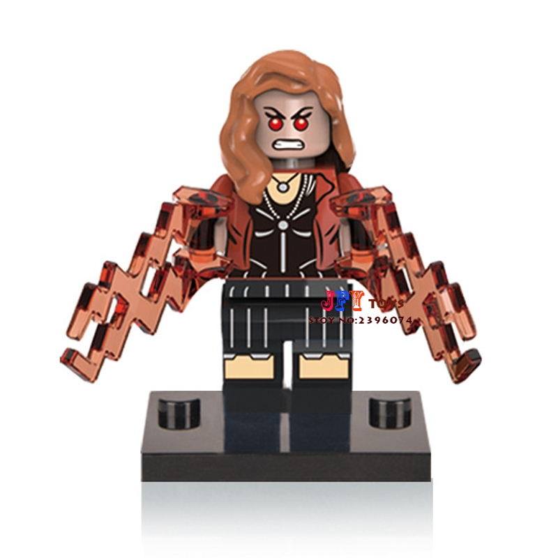 50pcs superhero Scarlet Witch building blocks bricks friends for girl boy kids children toys brinquedos menina