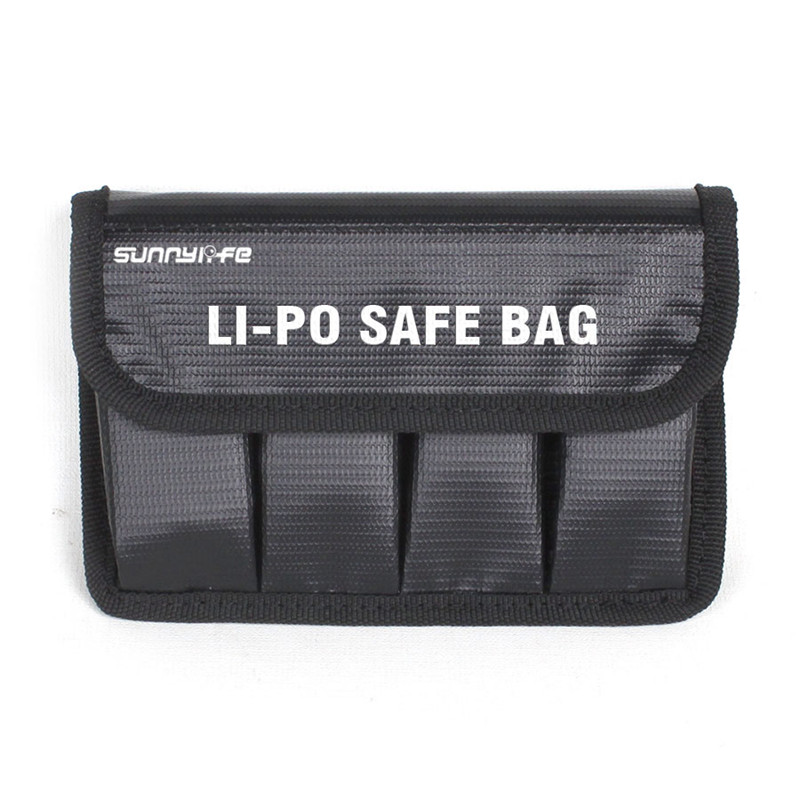 Sunnylife LiPo Safe Bag Battery Explosion-proof Bag Protective Bag Battery Explosion Bag for DJI OSMO Mobile OSMO+ RAW and PRO dji crystalsky osmo pro raw mounting bracket for crystalsky monitor onto osmo pro raw original