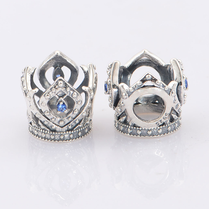 2015 New Fits Pandora Charms Bracelet 925 Sterling Silver Bead Elsa\u0026#39;s Crown Charm Beads DIY Necklaces \u0026amp; Pendants-in Beads from Jewelry \u0026amp; Accessories on ...