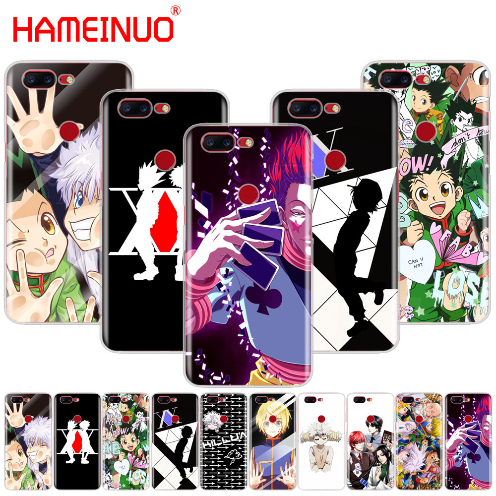 HAMEINUO Hunter Hunter <font><b>Anime</b></font> cover phone <font><b>case</b></font> for Oneplus <font><b>one</b></font> <font><b>plus</b></font> 6 5T 5 3 <font><b>3t</b></font> 2 A3000 A5000 image