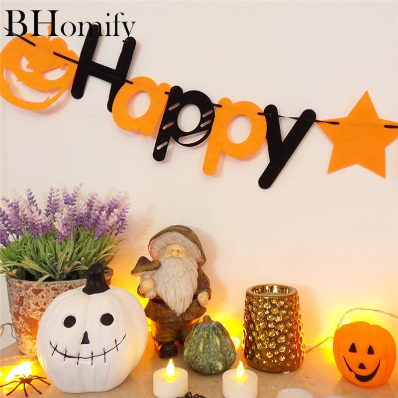 "Home Decor Parties Companies: Halloween Banner Hanging Decorations ""Happy Halloween"