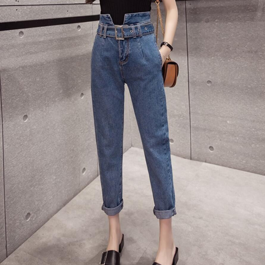 2018 autumn fashion Jeans casual Women Jeans