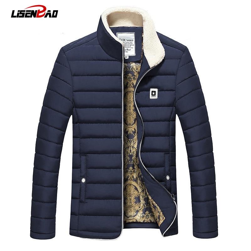 2017 Winter Man Casual High Qaulity Cotton font b Jacket b font Outdoors font b Men