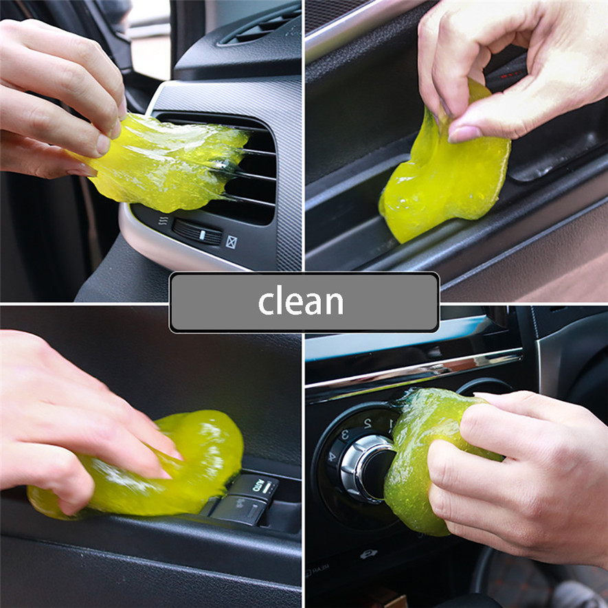 Dirt-Cleaner Silica-Gel Green Slime Car Sticky Magic Dust L0423 Keyboard Gum Practical