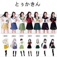 HUGGUH Nuovissimo gioco di Ruolo Touken Ranbu Cosplay Costume di Halloween Scuola Uniforme Sexy del Vestito Delle Donne Vestito Da Marinaio H173104