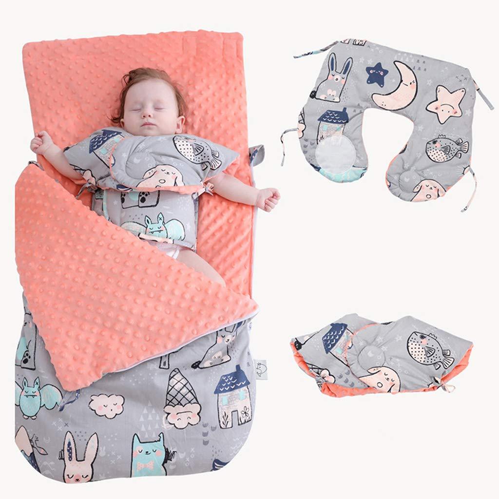 Bébé infantile nouveau-né chaud sac de couchage sac de nuit poussette couche couverture Portable matelas à langer tapis d'urine Nappy pour les soins de bébé