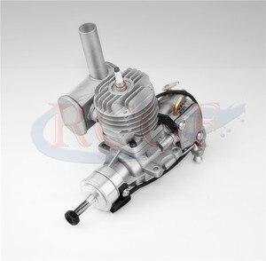 Image 3 - RCGF 10cc Benzine/Benzine Motor w/Achter/Side Uitlaatpijp 10 ccRE/10 ccBM voor RC model Vliegtuig