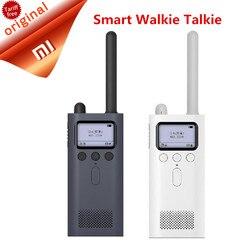 2018 Xiaomi Mijia inteligentny Walkie Talkie z FM głośnik radiowy czuwania inteligentny telefon APP udostępnianie lokalizacji szybko zespół mówić hurtownie 2