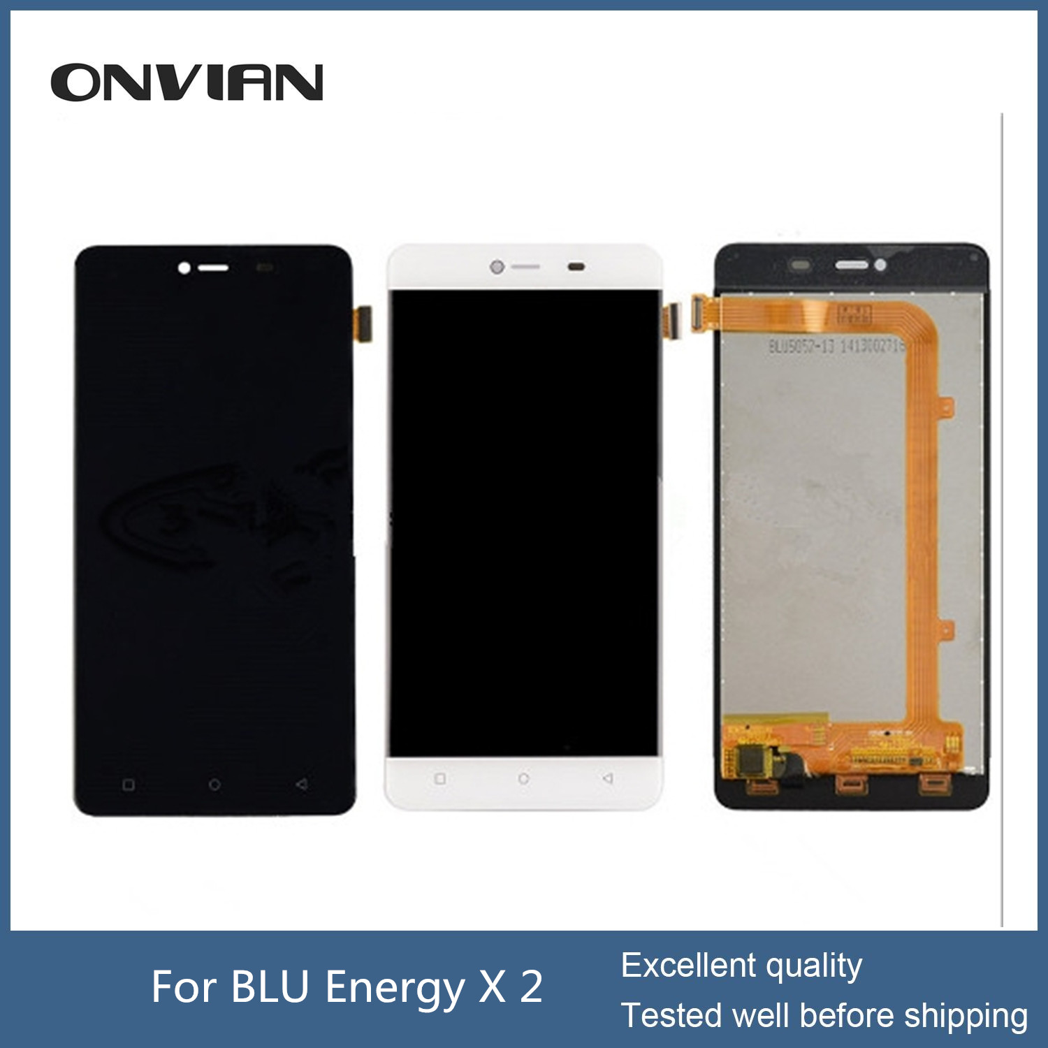 BLU Energy X 2 E050U LCD Display Touch Screen Digitizer Assembly repair replacement parts for BLU Energy X2 E050U