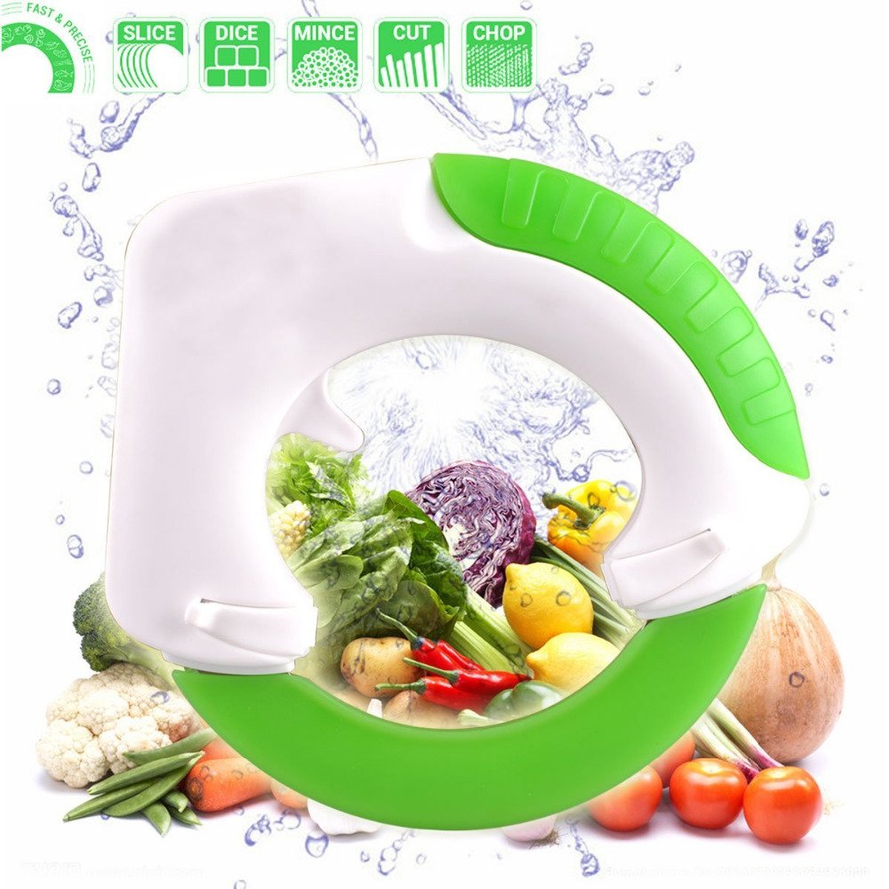 Innovation Rolling Knife Circular Kitchen Cutter with Hanging Hook