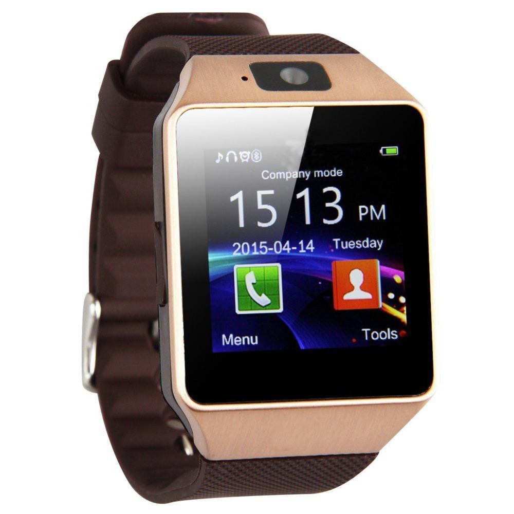 Bluetooth смарт часы Smart Часы SmartWatch DZ09 Android фото