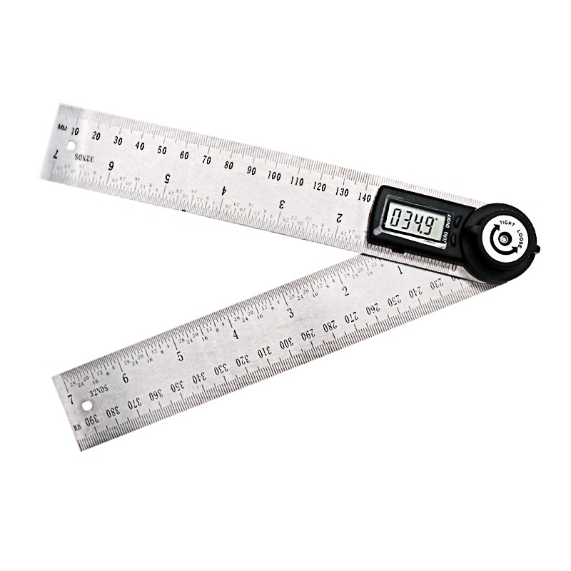 200mm Digital Angle Ruler Finder Meter Protractor Inclinometer Goniometer Electronic Angle Gauge Stainless Steel measure tool200mm Digital Angle Ruler Finder Meter Protractor Inclinometer Goniometer Electronic Angle Gauge Stainless Steel measure tool