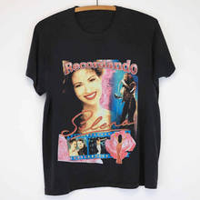 Printed T Shirt Sleeve Men'S New Style Crew Neck Short-Sleeve Selena Quintanilla Tee Shirt military style printed round neck long sleeve tee