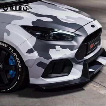 Black White Camouflage Vinyl Film DIY Styling PVC Camo Vinyl Car Wrap Air Bubble Free ORINO Vehicle Boat Wrapping