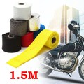 1.5M Motorcycles Exhaust Header Pipe Heat Wrap Manifold Turbo Shields Insulation Roll Tape Virgin Glass Fiber