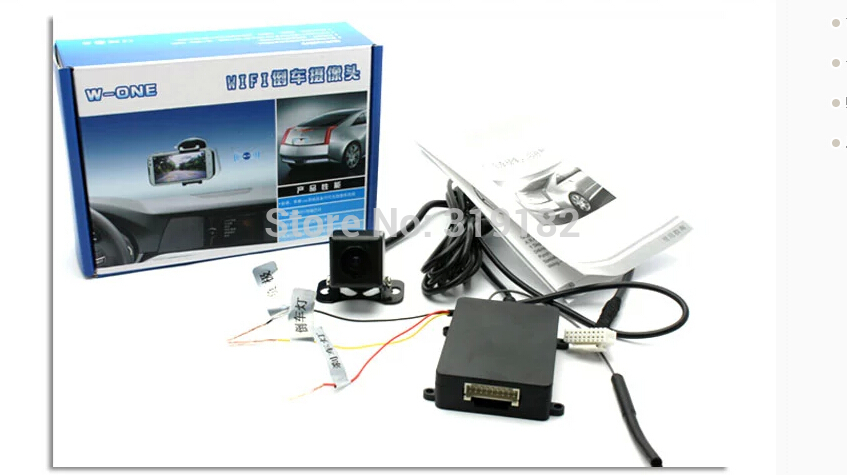 2015 WiFi backup camera Android wireless wifi Parking Assistance Backup System DVD Mobile Phone Tablet PC