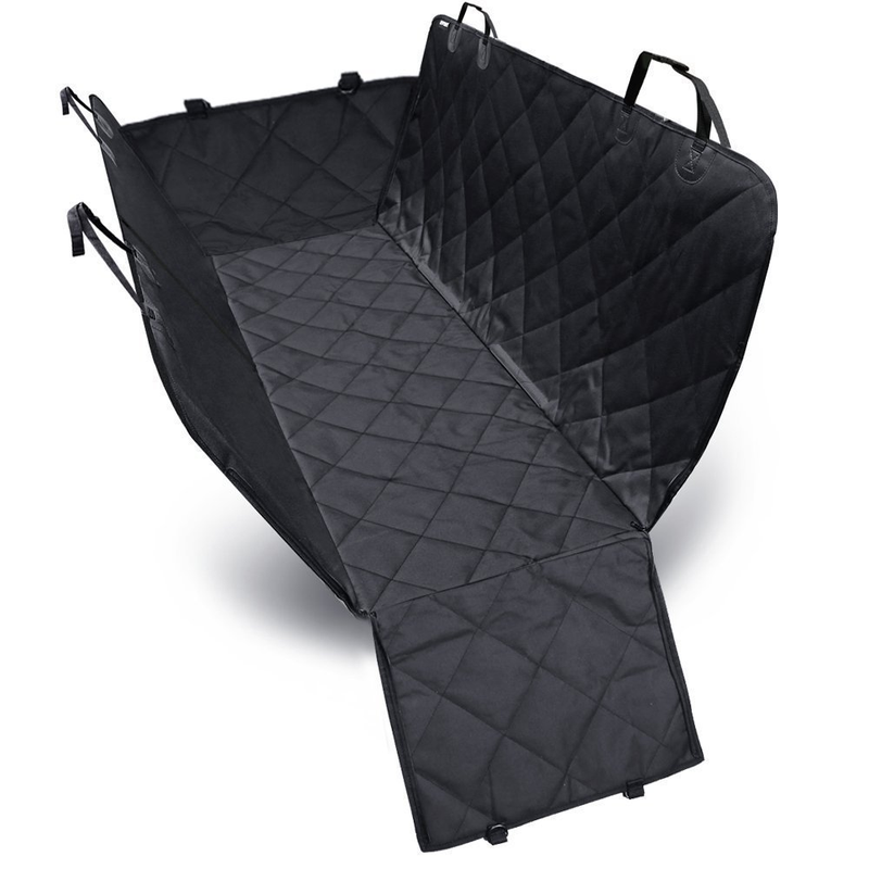 Dog Cover Hammock 600D Heavy Duty Waterproof Scratch Proof Nonslip Durable Soft Pet Back Seat Covers for Cars Trucks and SUVs