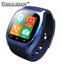 EDWO M26 Bluetooth Smart Watch Clock Support SIM Card Fitness Tracker Smartwatch Reloj Inteligente For Android