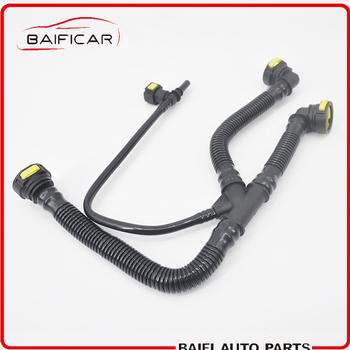 Baificar marki prawdziwej silnika odpowietrznik skrzyni korbowej rury 1192W0 TU5JP4 dla Peugeot 206 207 307 308 408 Sega Citroen C2 1 6 16 V tanie i dobre opinie 2000-2015 1 6 16V 4 cylinder Crankcase Breather