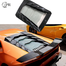 Carbon Fiber Engine Cover For Lamborghini Huracan LP580 LP610 (2014+) MAN Style with Arylic Body Kits Tuning Trim