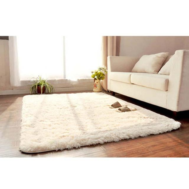 fluffy rugs anti skiding shaggy area rug dining room carpet floor mats white shaggy rugs - Carpet For Dining Area