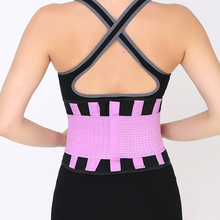 Gym Sports Waist Support Men&Women Waist Trainer Slimming Brace Waist Training Fitness Corsets Body Health Waist Support b34 недорого