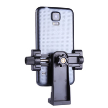Universal Portable Tripod Mount Cell Phone Clipper Holder Vertical 360 degree Rotation Adapter For samsung huawei xiaomi oneplus
