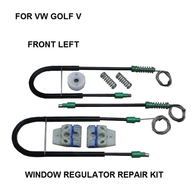 ELECTRIC WINDOW REGULATOR FOR VW GOLF V 4/5 DOOR FRONT-LEFT 2013-2015