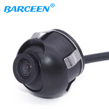Promotion CCD HD night vision car rear view camera  for 360 degree Rotation front view side view Universal camera Free Shipping