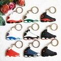 Mini Jordan 13 Key Chain For Men Woman Silicone Sneaker Keychain Key Ring Key Holder Gifts Key Chain