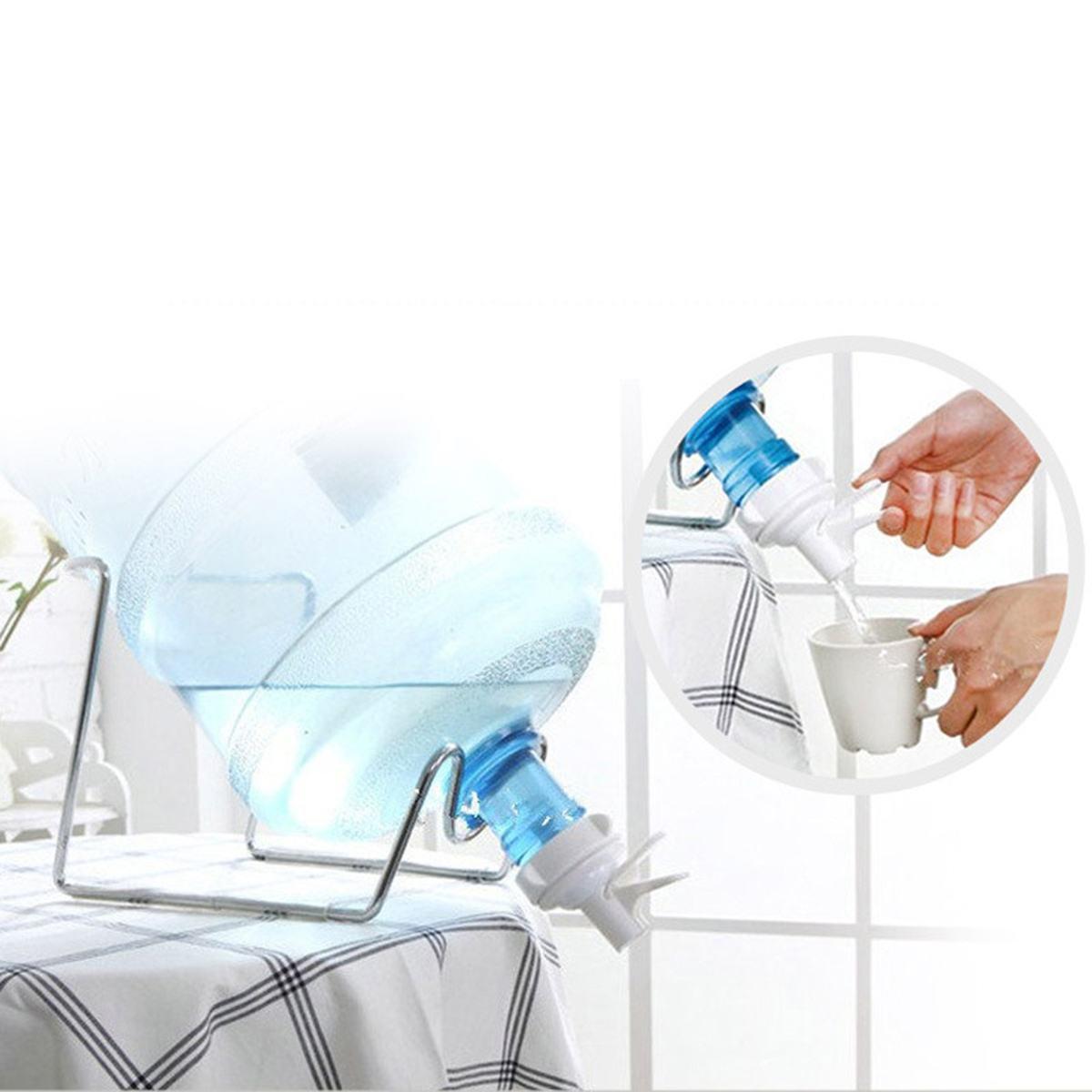 المحمولة 3-5 جالون إبريق ماء الوقوف مع الشرب زجاجة صمام موزع مياه أجزاء الصمام ل 55 مللي متر الخروج حنفية صمام