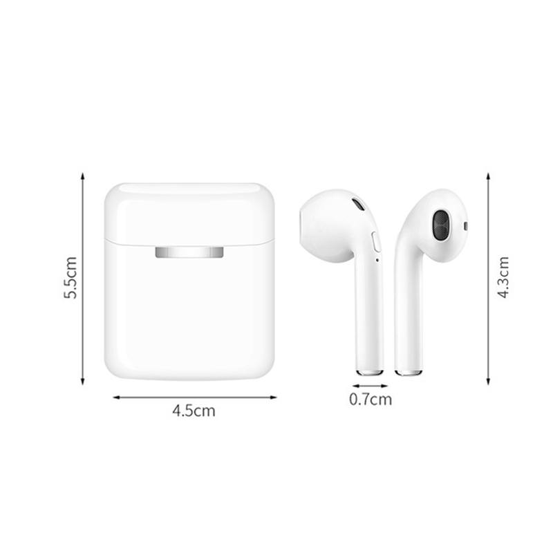 Image 2 - NEW i20 TWS Wireless Bluetooth 5.0 Earphones Stereo Earbud Headset Gaming Sport Mini Headphone With Charging Box For Smart Phone-in Bluetooth Earphones & Headphones from Consumer Electronics