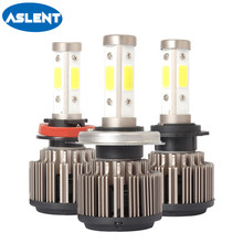 Aslent Car Headlight H7 LED H4 H11 H13 HB2 HB3 HB4 HB5 5202 9004 9005 9006 9007 9012 100W 10000LM 12V Auto Headlamp Light Bulb(China)