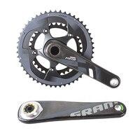 SRAM силы s 2x11 s 50 x Т 34 Т 53x39 т мм 170 мм Дорожный велосипед шатуны велосипедные цепи колеса углерода ноги GXP