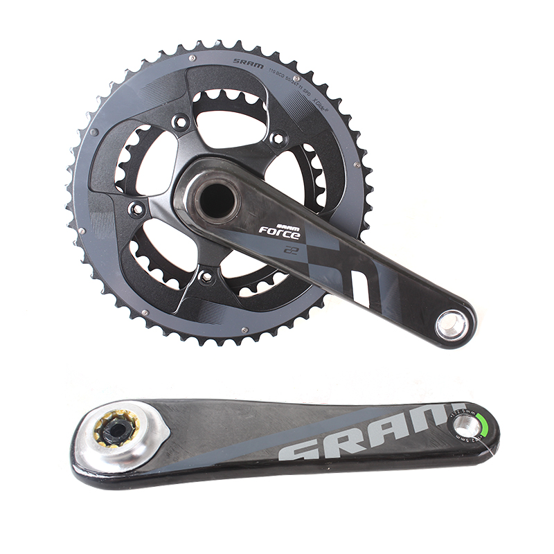SRAM FORCE 2x11S 50x34T 53x39T 170mm 172.5mm Road Bike Crankset Bicycle Chain Wheel Carbon Leg GXP & BB30 sram xx1 x9 xo gxp bb30